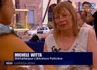 Michele witta à Ajaccio en juillet 2008