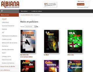 Albiana new site
