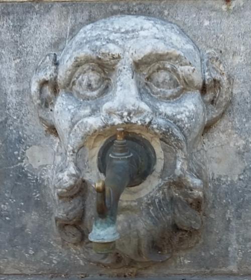 Fontaine du cavallo rosso- Bastia juin 2017