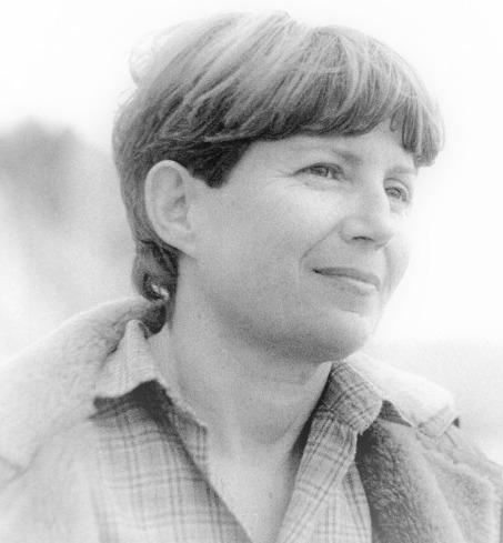 Mireille Gouaux à Nice en 1981 - DR